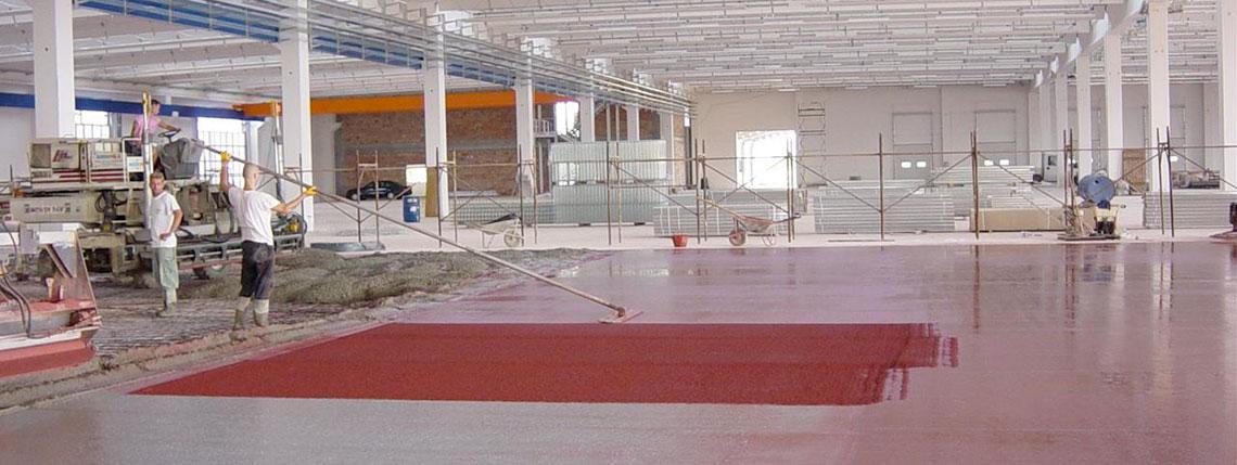 Tecnologia applicata pavimentazioni industriali