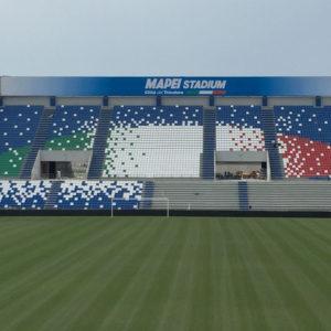 impermeabilizzazione impianto sportivo stadio Mapei ResinSystem