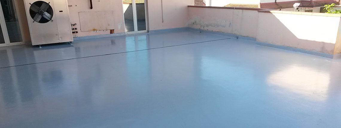 Impermeabilizzazione terrazzo in resina Resin System