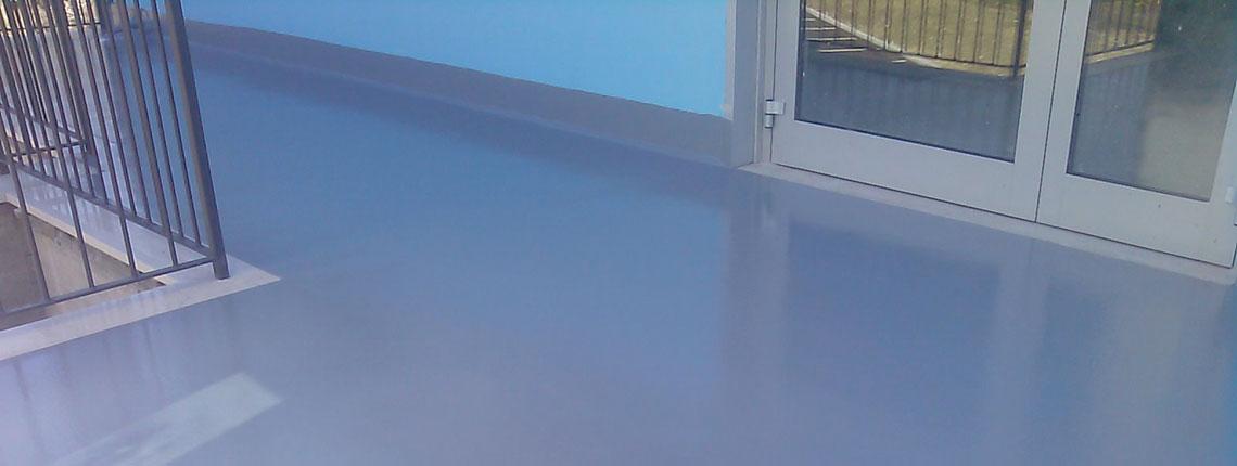 Terrazzo impermeabilizzato con resina Resin System