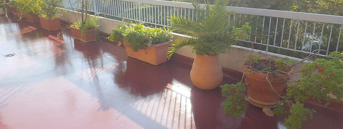 Impermeabilizzazione terrazzi Resin System