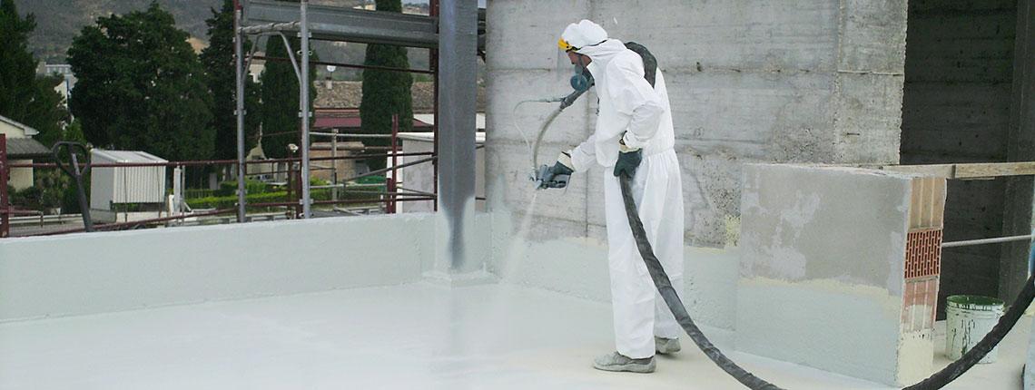 Impermeabilizzare tetto pensile con la resina