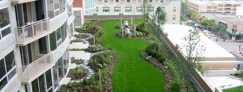 Impermeabilizzazione giardino pensile Resin System