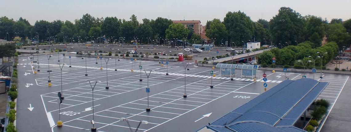 Impermeabilizzazione parcheggio realizzata da Resin System