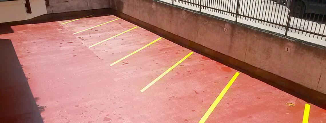 Resin System realizza l'impermeabilizzazione dei parcheggi carrabili