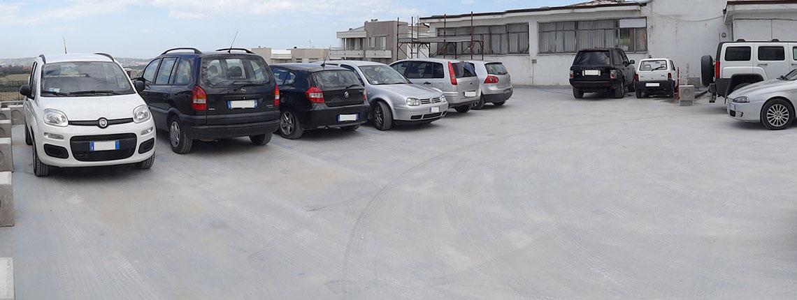 Impermeabilizzazione parcheggi carrabili