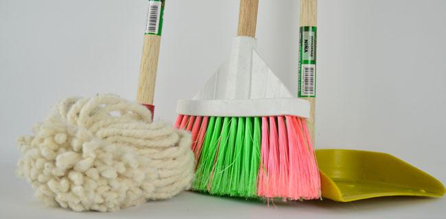 idiene e pulizia dei pavimenti in resina