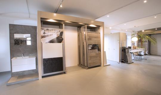 pannelli showroom ResinSystem Italia