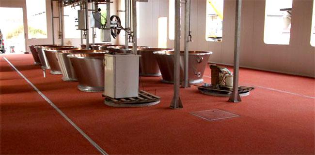 pavimentazione industria alimentare in resina