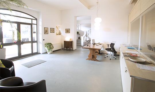 Entrata e reception ResinSystem Italia Cremona