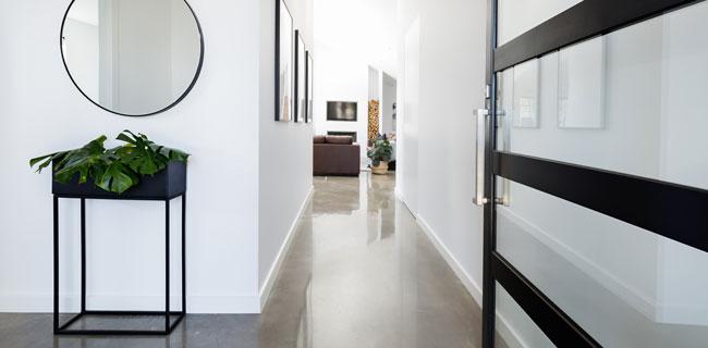 pavimentazioni in cemento per interni
