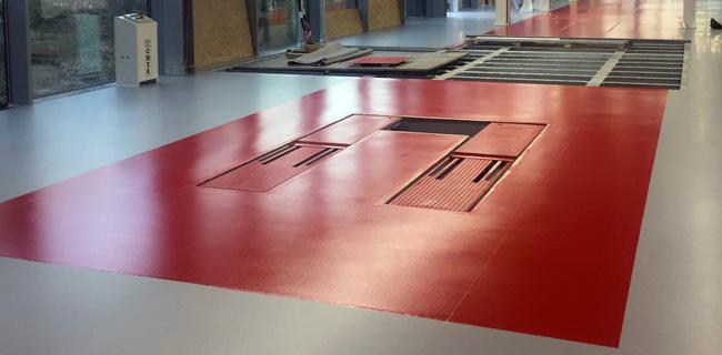 progettazione e realizzazione pavimenti industriali in resina