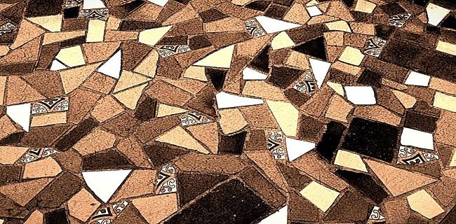 rivestimenti in ceramica disegno mosaico