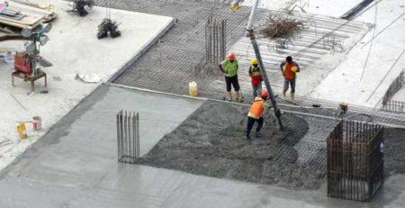 pavimento in cemento