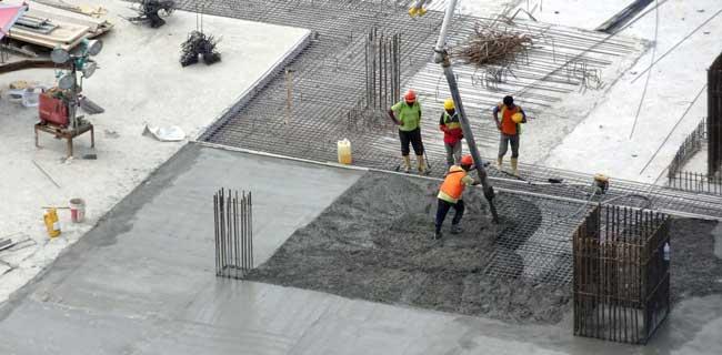 realizzazione pavimento in cemento