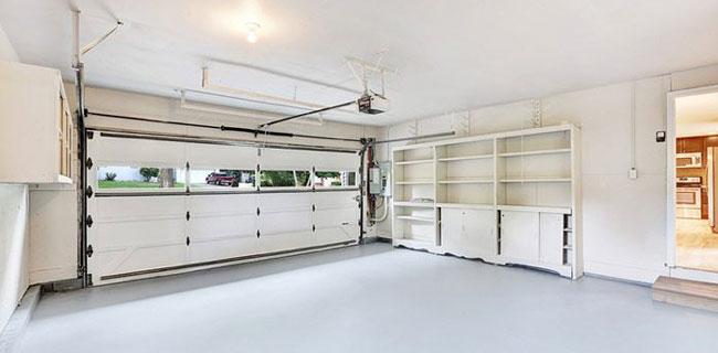 pavimento per il garage