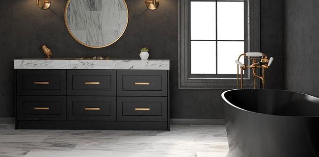 resina per le pareti del bagno