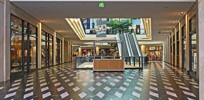 pavimenti per centri commerciali