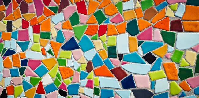 Rivestimenti in ceramica mosaico