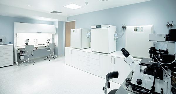Camera bianca biomedicale