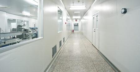 Pavimenti in resina settore biomedicale